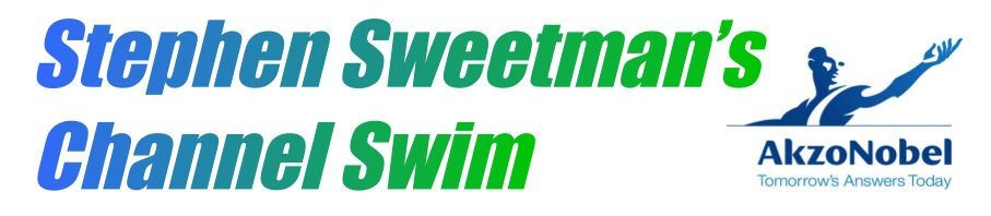 Stephen Sweetman's Channel Swim