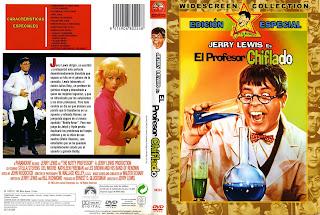 Carátula: El profesor chiflado (1963) The Nutty Professor
