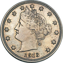 1913 nickel
