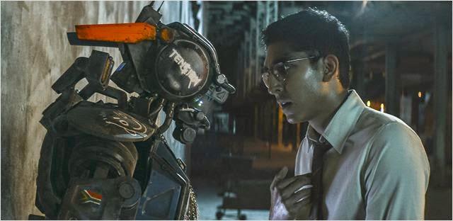 Dev Patel en Chappie