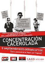 Concentración Cacerolada; Alcorcón, 9 de Septiembre.