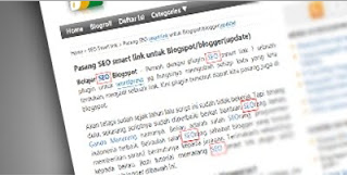 membuat seo smart link di blog