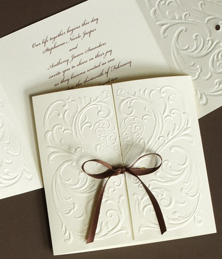 Modern Wedding Invitation could be nice ideas for your invitation template