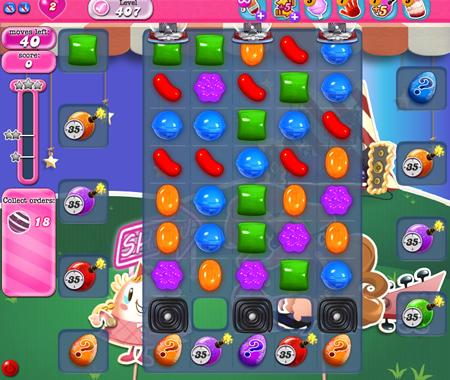 Candy Crush Saga 407