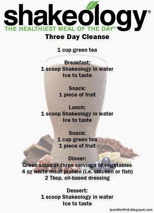 Three Day Detox Drink
