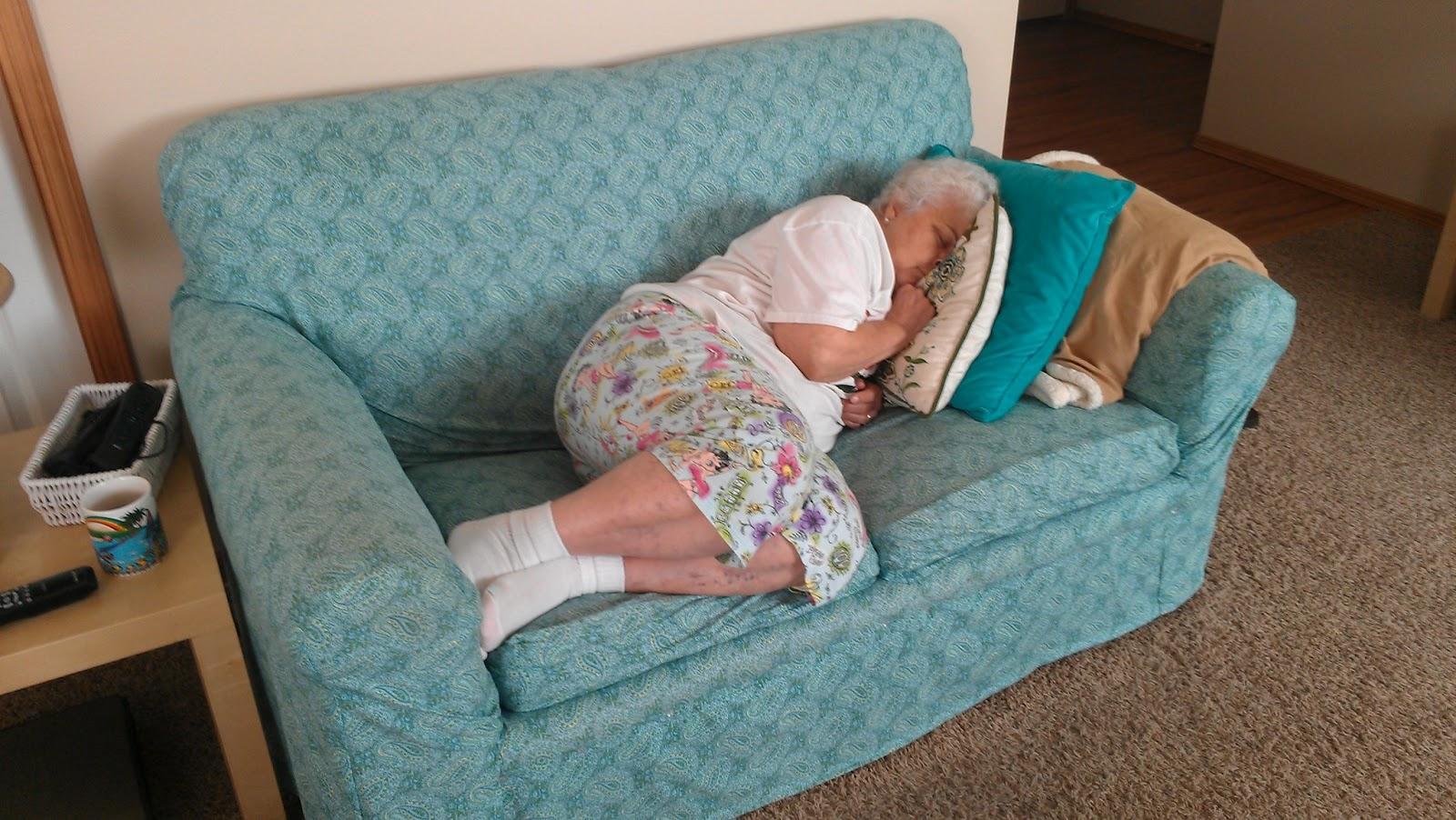 Sleeping Aunt