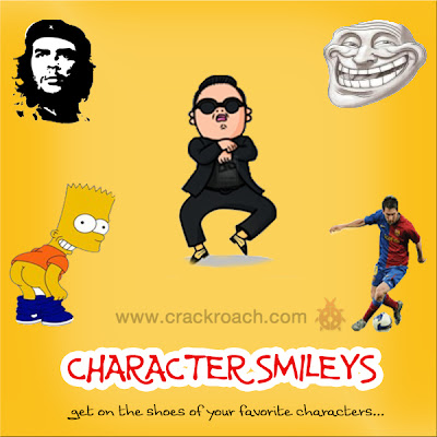 Largest Collection of Facebook Chat codes for Latest Smileys & Emoticons character crackroach