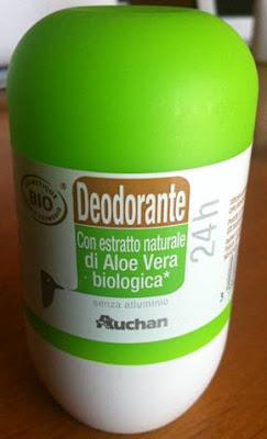 Auchan BIO deodorante con estratto di Aloe Vera Biologica