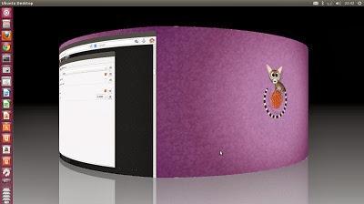 Mengaktifkan Compiz Desktop Cube di Ubuntu 13.04