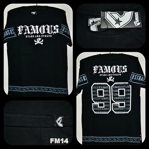 Kaos Surfing FAMOUS Kode FM14