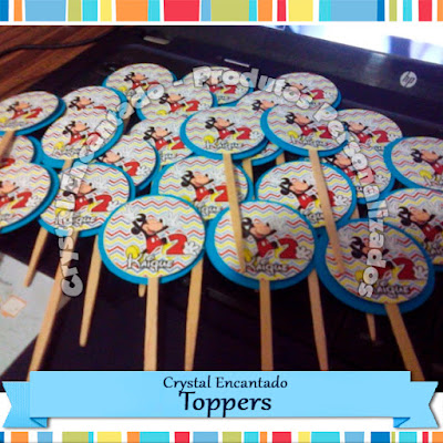 Toppers do Mickey.