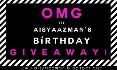 http://aisyaazman.blogspot.my/2015/10/aisyaazmans-birthday-giveaway-10.html
