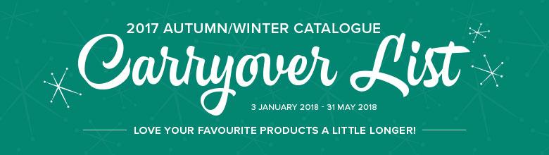 2017 Herbst/Winter Katalog Produkte verlängert