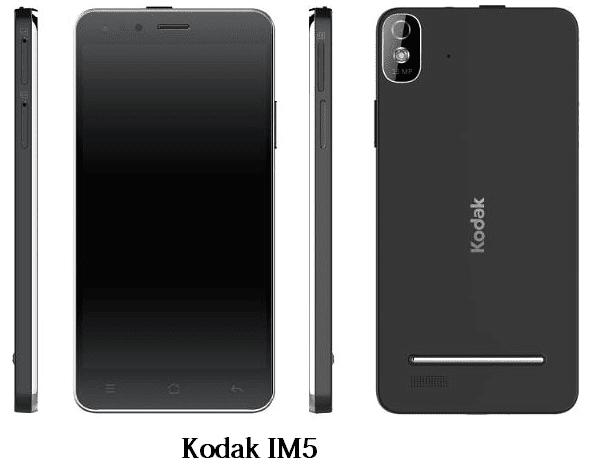 كوداك تكشف عن هاتفها الجديد IM5