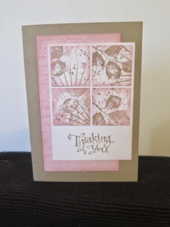 Pink Pirouette and Crumb Cake  zena kennedy independent stampin up demonstrator
