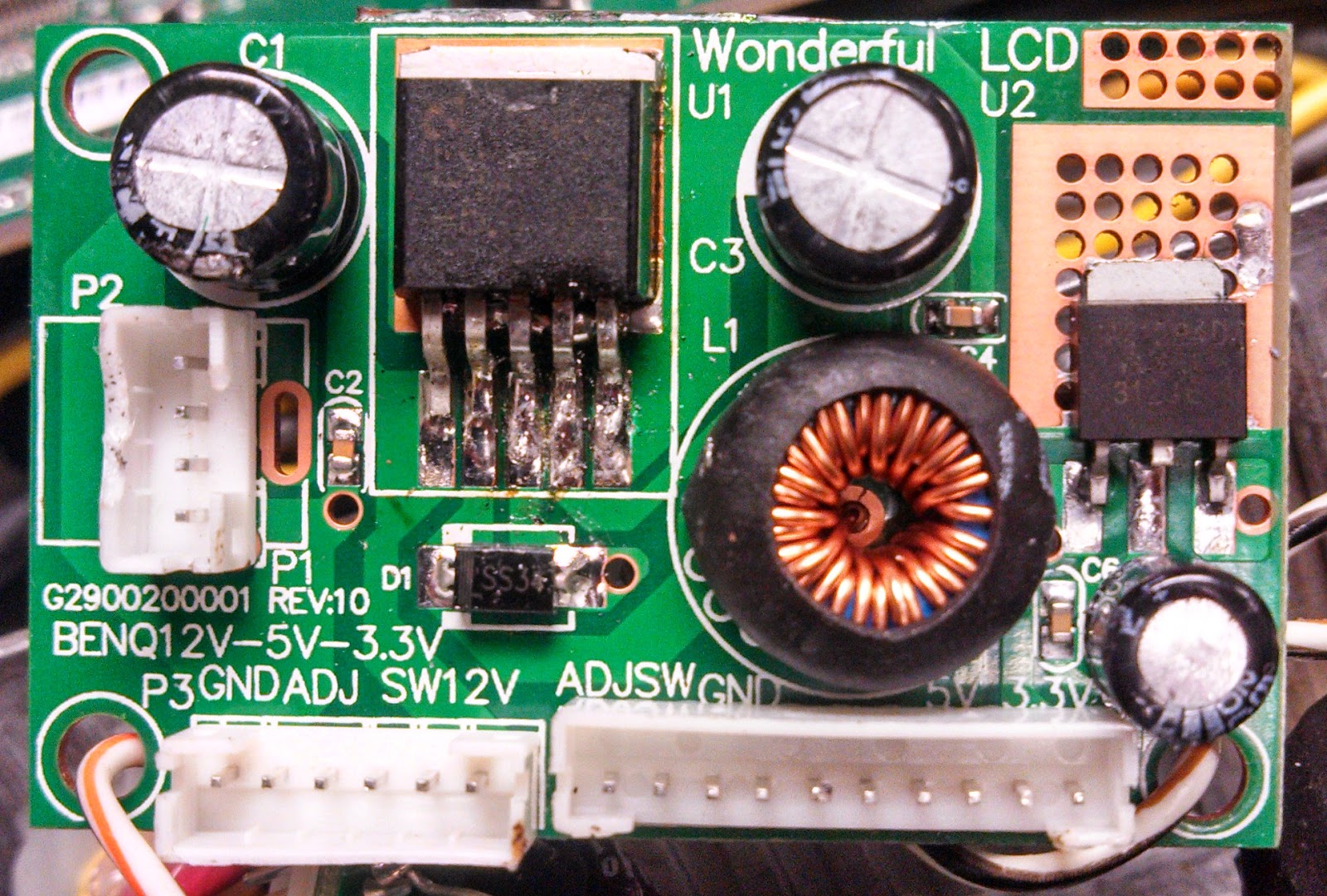 Ka7oeis Blog A Quiet 5 Volt Usb Car Power Supply Picture Of Variable Voltage Regulator Filtered Linear The Dc To Converter Step Down Led Module 3a Obtained From Evilbay Ignore Slightly Messy Soldering That