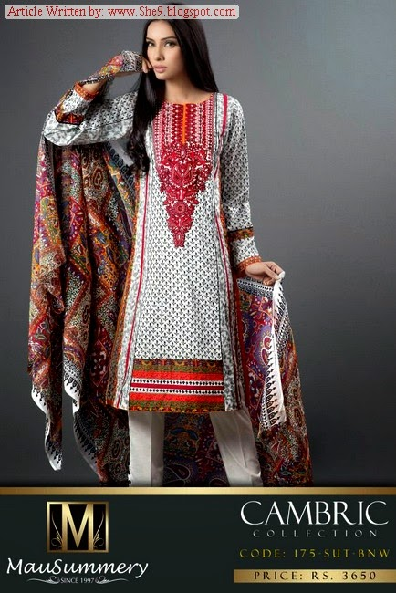 Mausummery Cambric Fancy Winter Dresses