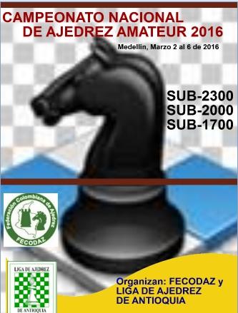Campeonato Nacional Amateur 2016 (Clic a la imagen)