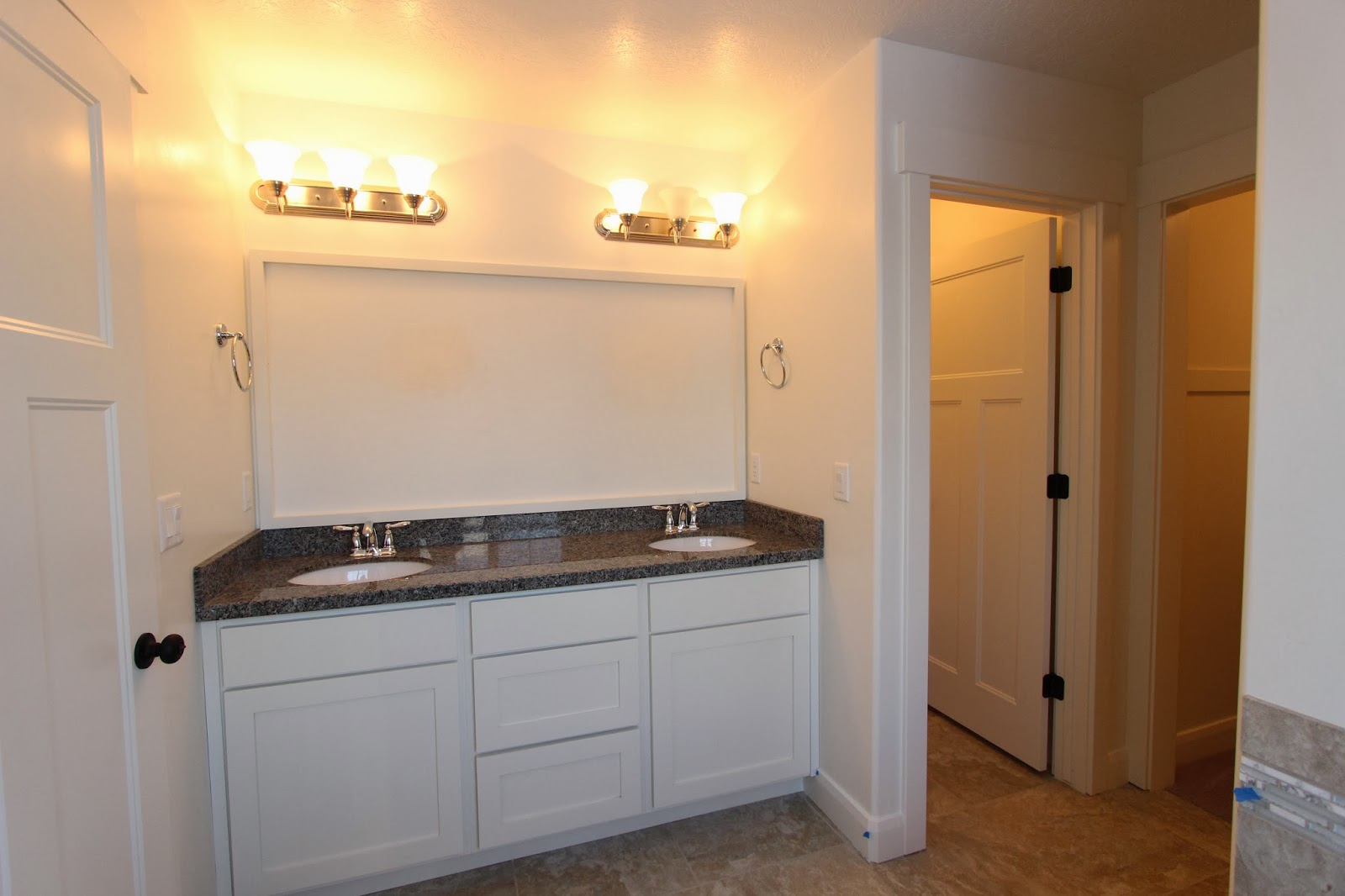 Vanity Lights Shine Up Or Down : Summit Construction - Brand New Custom Homes: February 2014