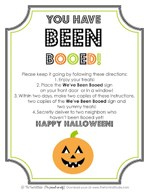 Youve been booed free printable weve been booed sign i created a printable template and instructions for you to use to boo your favorite neighbors pronofoot35fo Gallery