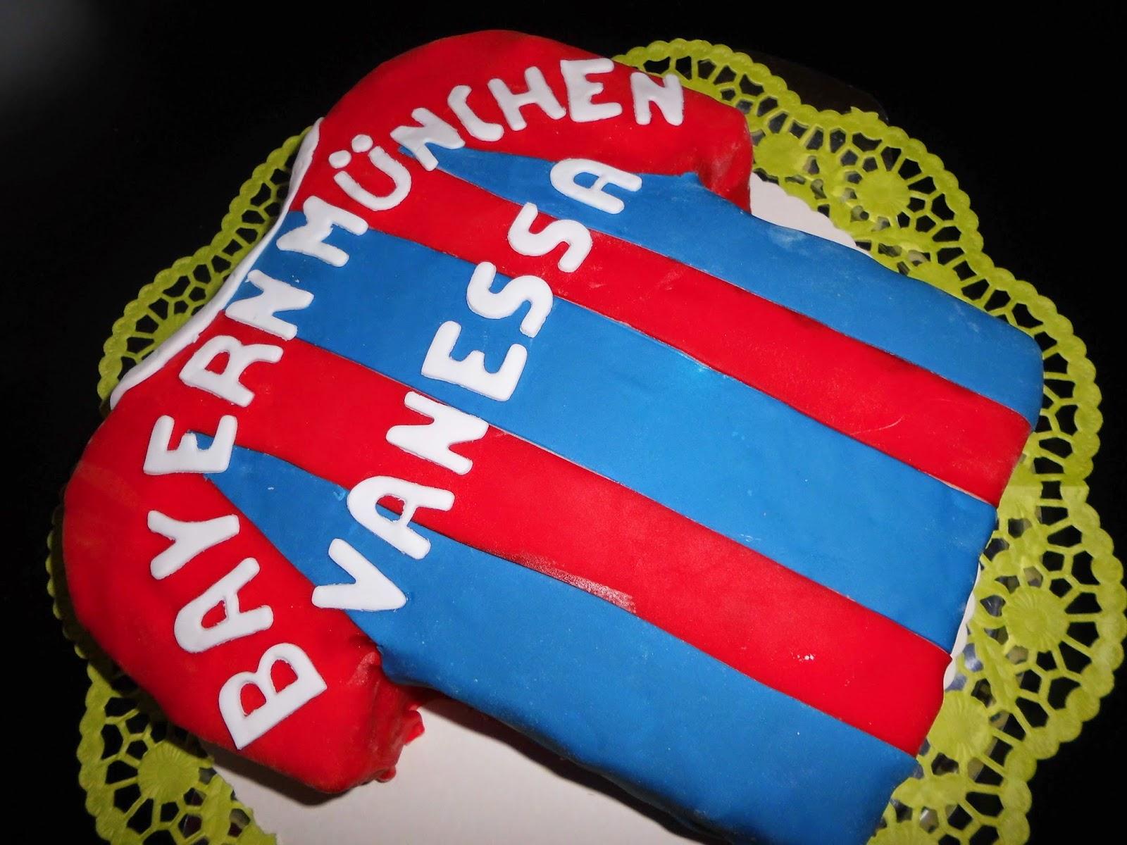 Trikot torte fc bayern