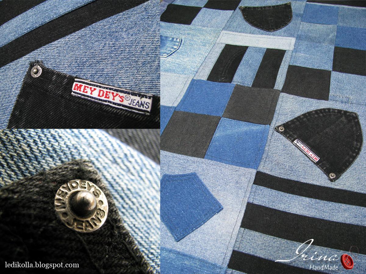 Половики из джинсов