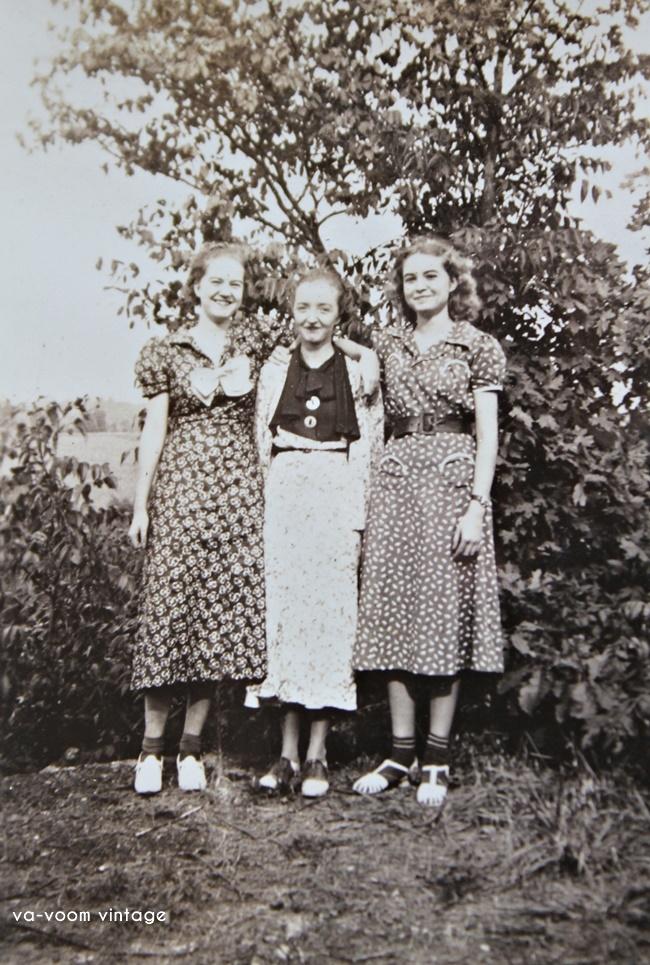 1930s womens style via va voom vintage