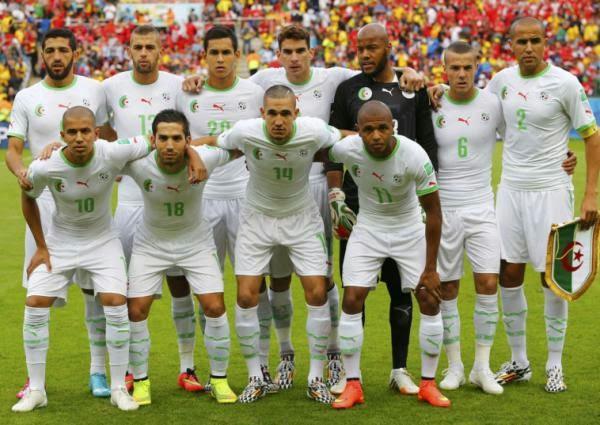 Algeria Cipta Sejarah Afrika di Piala Dunia 2014
