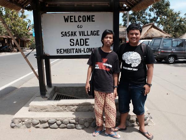 Kampung adat sasak Sade Lombok
