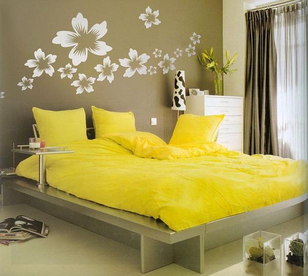 Zen Bedroom Ideas Bedroom Paint Colors Green Black And Khaki Bedroom Bedroom With Canopy Bed: Decoration Chambre Sticker