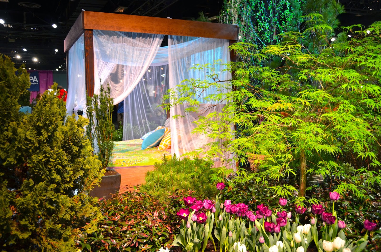 designing forty four Boston Flower and Garden Show