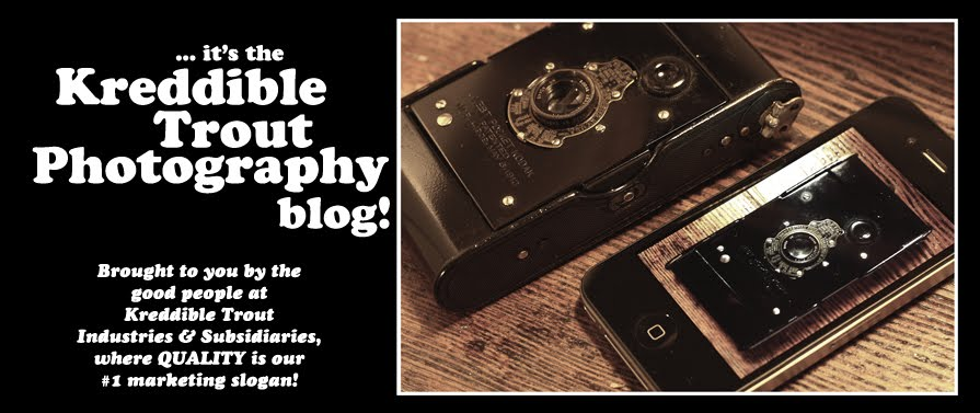 it's the Kreddible Trout Photography blog!
