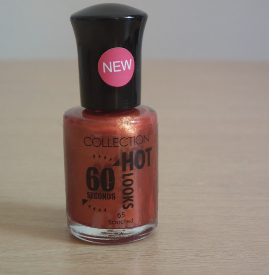 Collection Hot Looks 60 Seconds Nail Polish Scroched