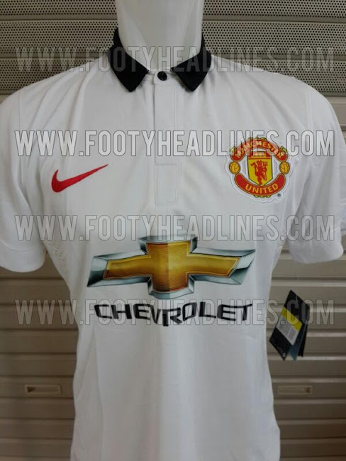 Manchester United 14-15 Home and Away Kits - Footy HeadlinesManchester United 2014 Away Kit