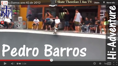 Pedro Barros, Florianopolis, Pousada Hi-Adventure, Skateboarding video 2013