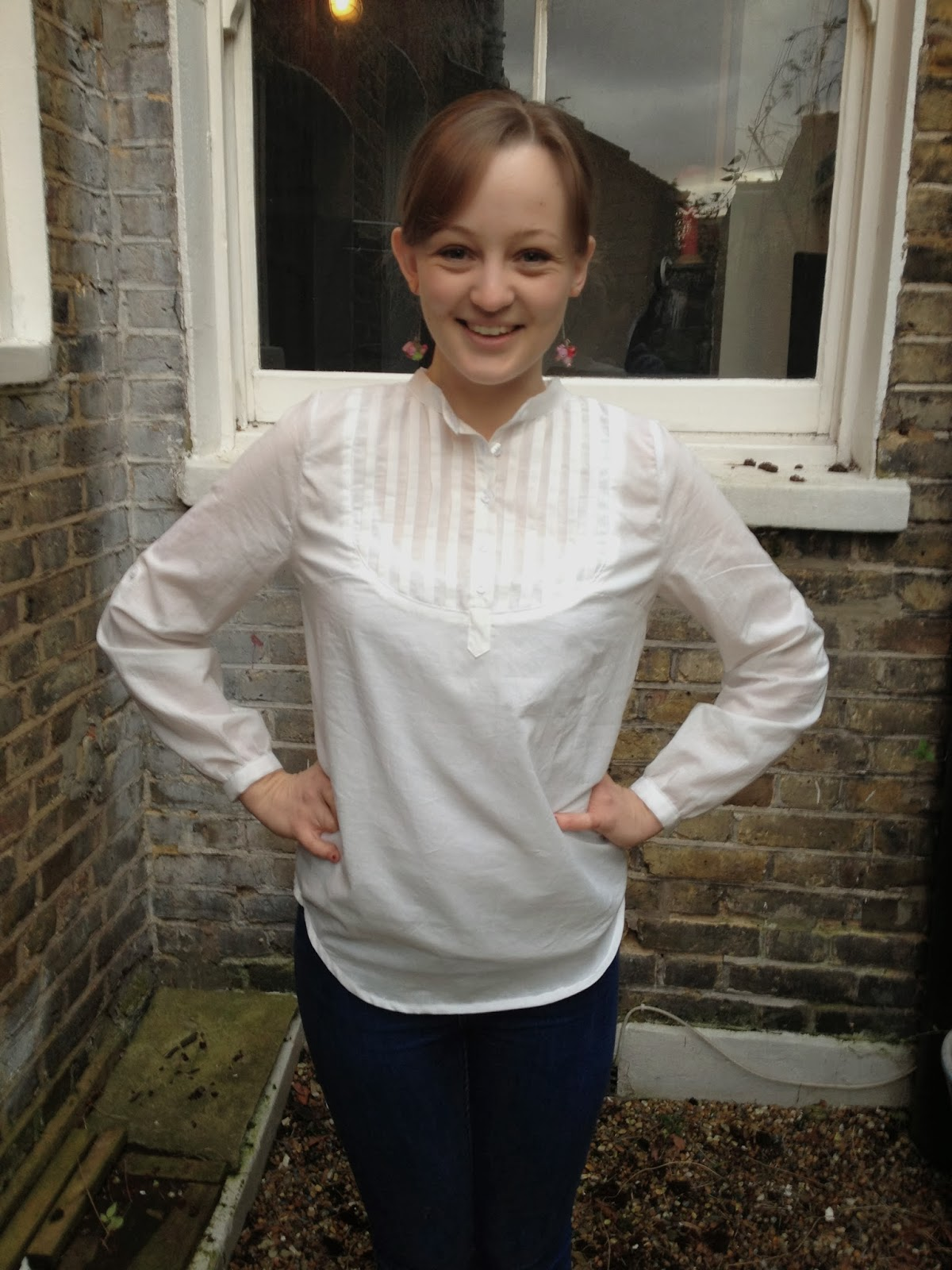 Diary of a Chainstitcher Pattern Testing Pauline Alice Carme Blouse Sewing Pattern
