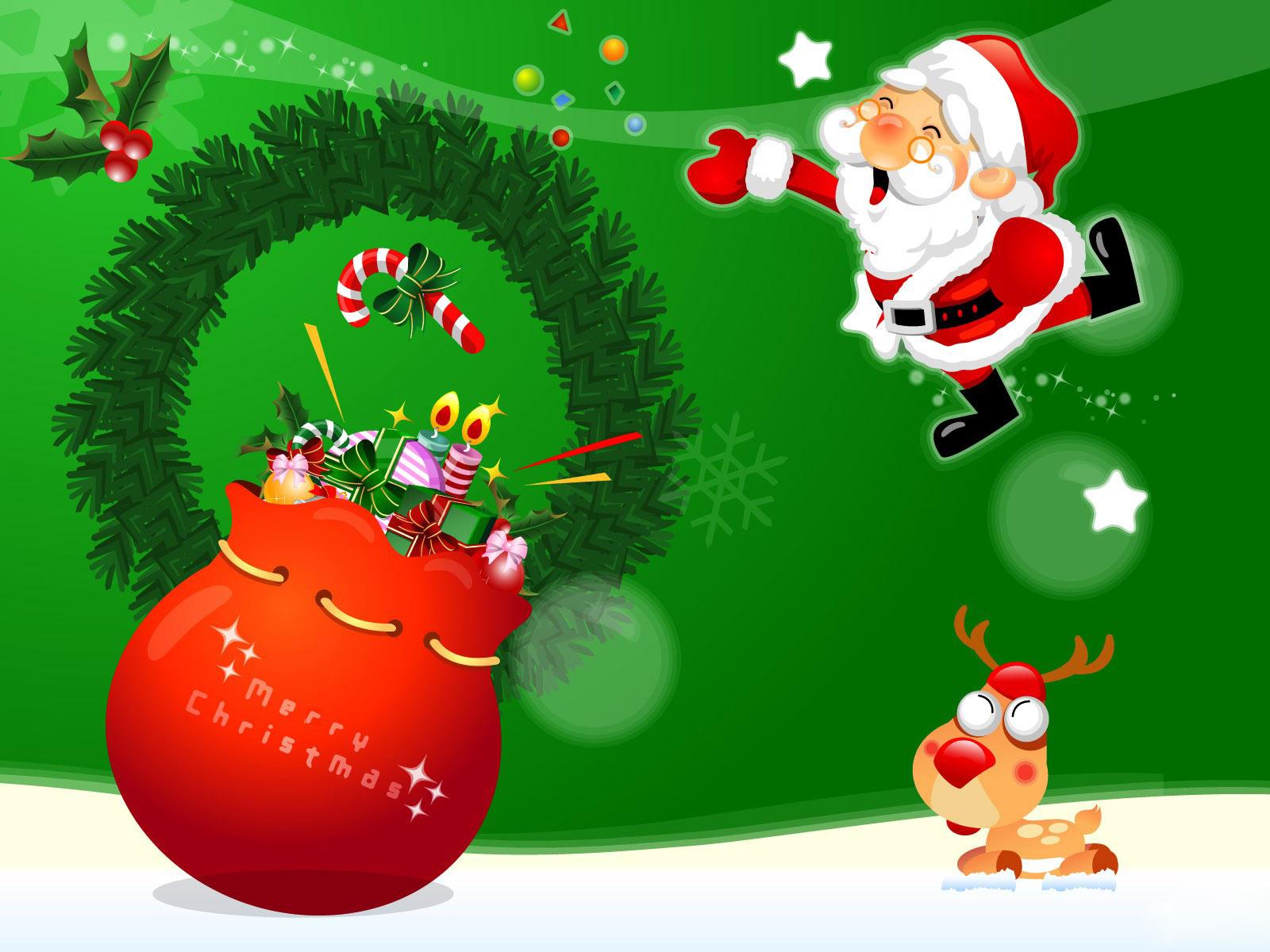 mixentry christmas santa claus holidays wallpapers