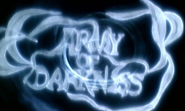 Army of Darkness title screen