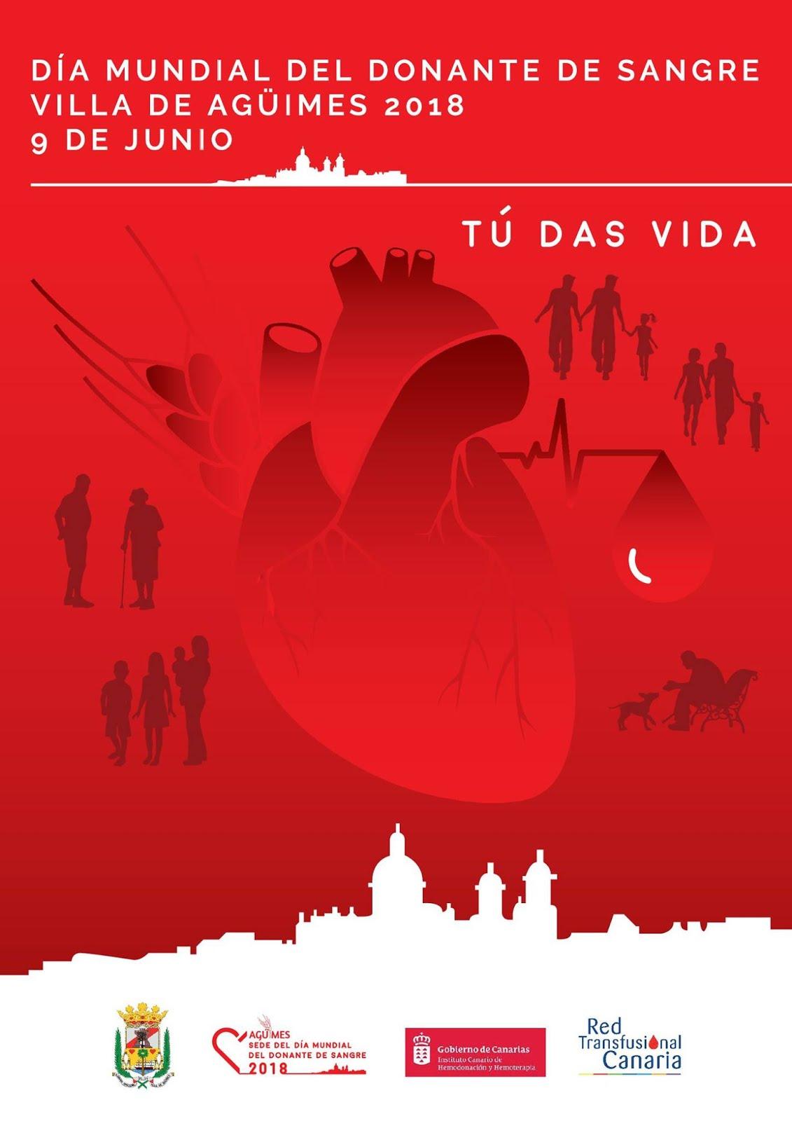 Día Mundial del Donante de Sangre-Agüimes 2018