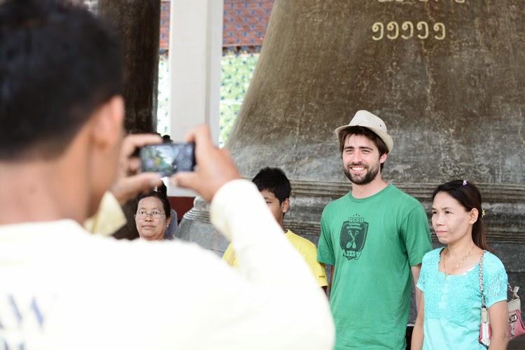 Birmanie, myanmar, voyage, photos de voyage, mingun, cloche