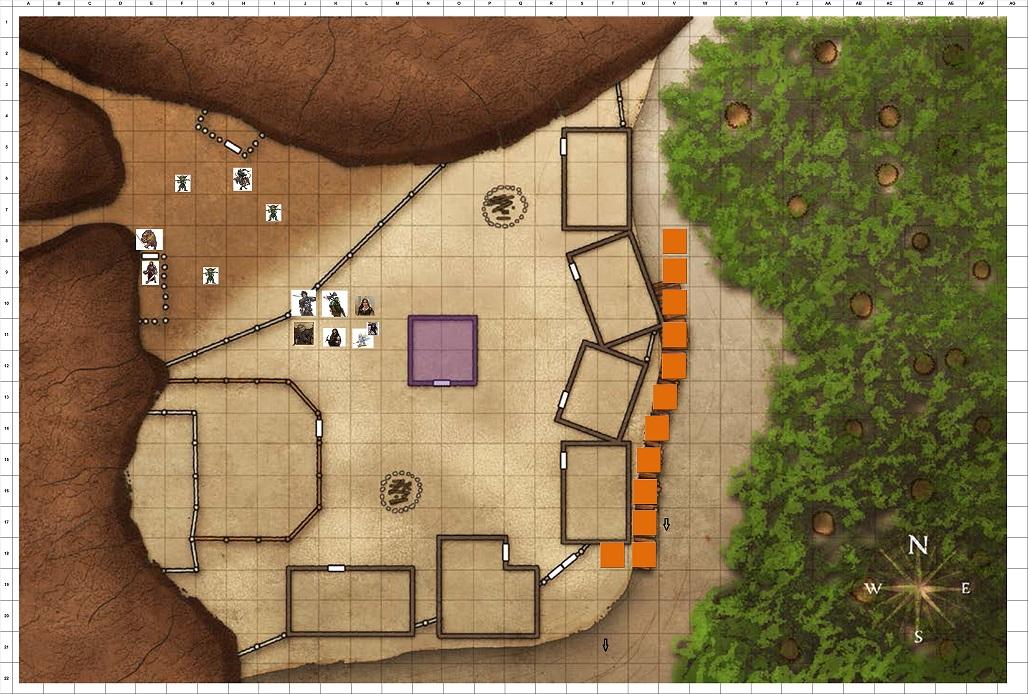 Combat Map Turn 45