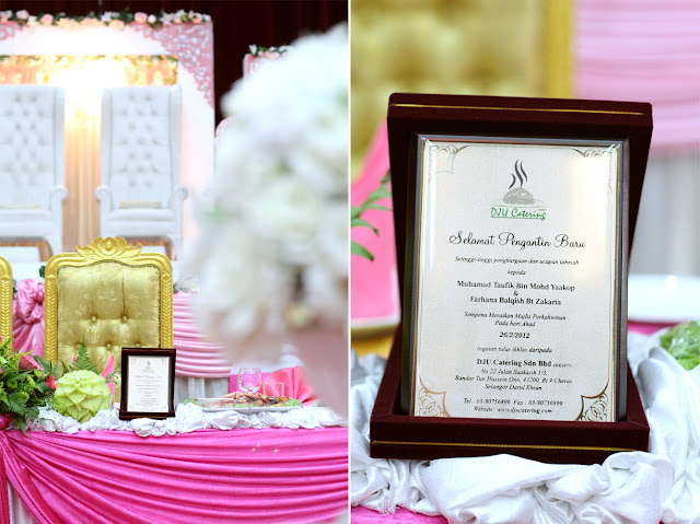 wedding reception taufik & farhana 1