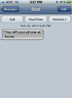 Texts that make you say, wtf?