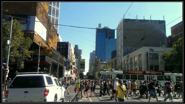 Centre-ville Melbourne visiter Australie tourisme