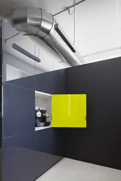 Camouflage principle at play in smart interiors
