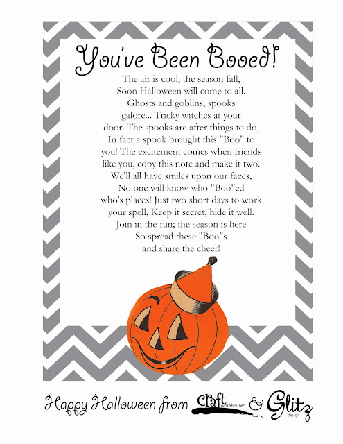 Boo Pails and Free Printable @craftsavvy @sarahowens #craftwarehouse #halloween #boopails #party