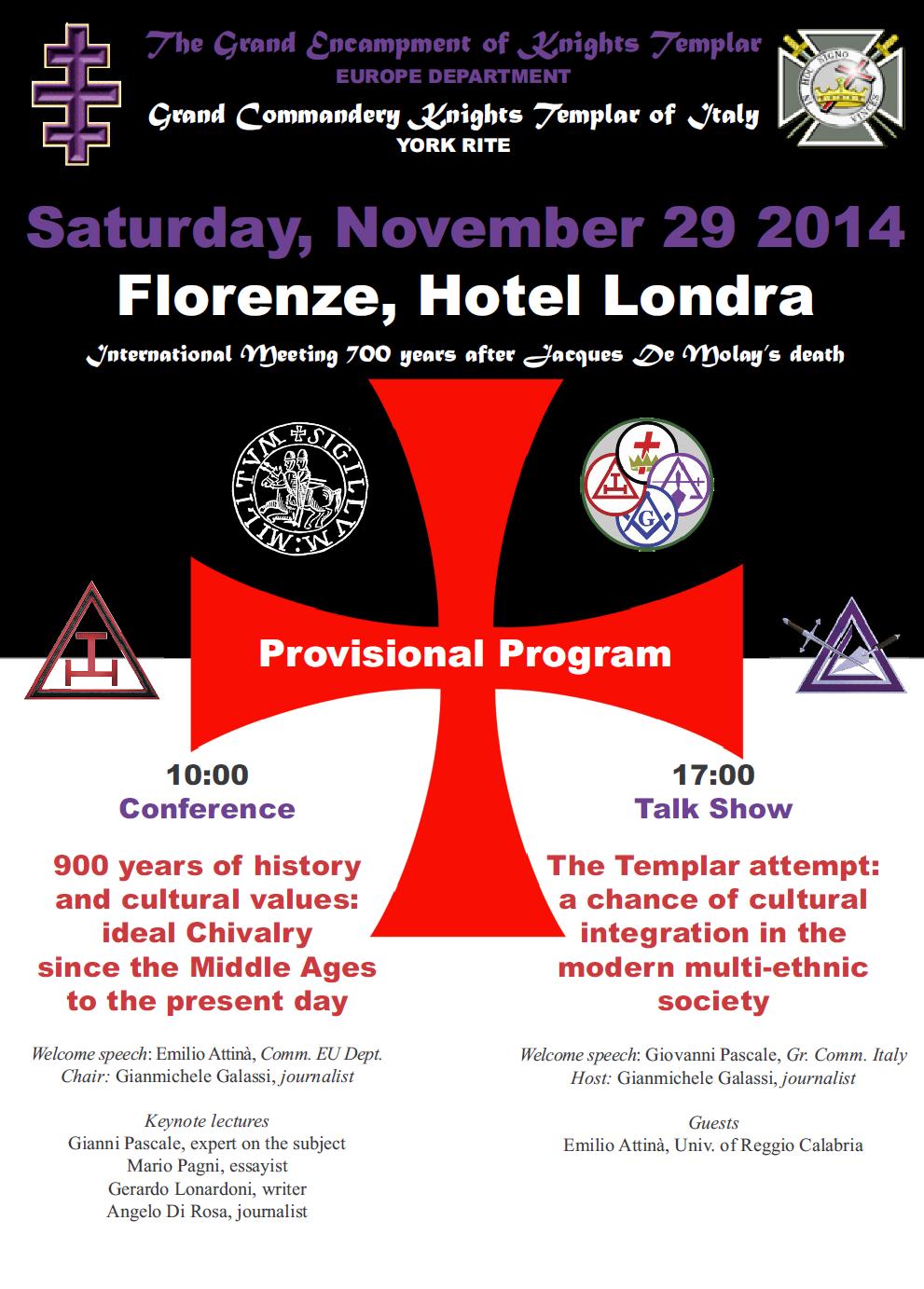 Templar Meeting Firenze 2014