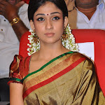 Nayantara in Silk Saree Cute Pictures