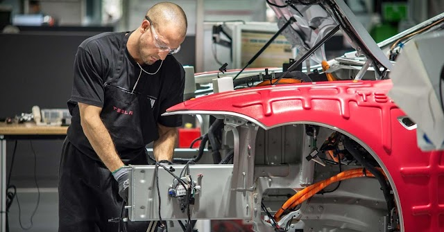 Tesla workers are passing out on the factory floor, according to reports