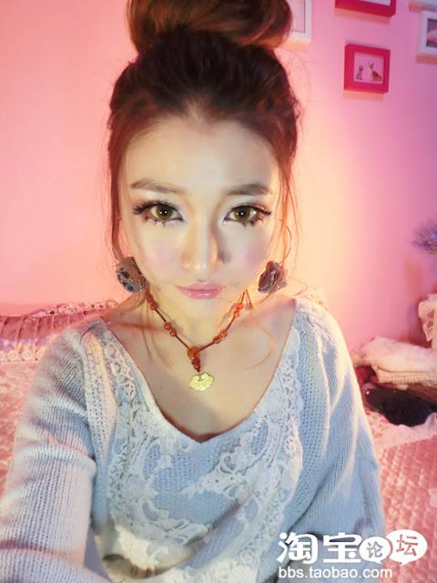 ... FASHION KOREA TERBARU: Tutorial Make Up Mata Boneka Ulzzang Korea